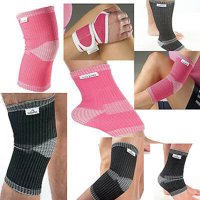 Vulkan AE Knee / Ankle / Wrist / Elbow / Calf & Shin Support Pink Arthritis Pain