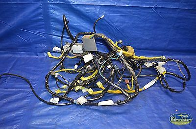 07 Subaru Impreza Wrx Sti Trunk Rear Wire Wiring Harness