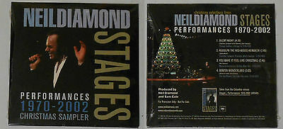 neil diamond sealed 4 song live promo of christmas songs from stages box set - Neil Diamond Christmas Songs