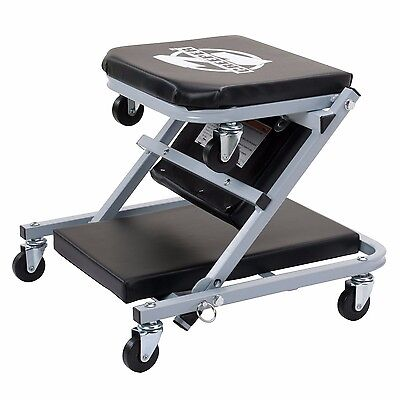 """Pro-Lift C-2036D Grey 36"""" Z-Creeper Seat, retractable pin to change seat NEW"""
