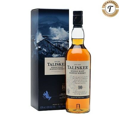 Whisky Talisker 10 Years Single Malt Scotch Whisky 70 CL 45,8% - in Astuccio