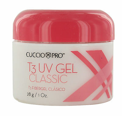 Cuccio Pro T3 UV Gel 28g Opaque Nude Natural & Nails T3 fibergel - BNIB