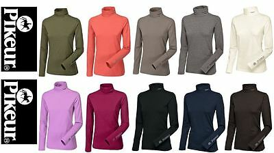 Pikeur Sina Roll Neck Top with Long Sleeves / Base Layer