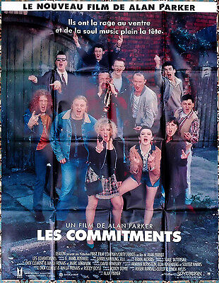 1991 THE COMMITMENTS Alan PArker French 47x63 film poster