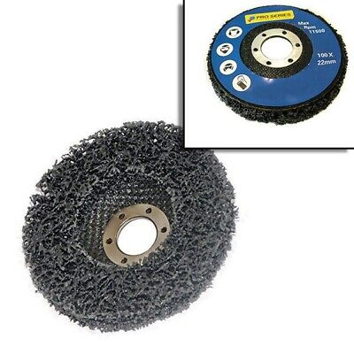 """Paint Rust Remover Abrasive Poly Wheel Disc For 115Mm 4 1/2"""" Angle Grinders"""