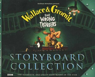 Wallace & Gromit- the Wrong Trousers Storyboard Co(Laminated... by BBC Paperback
