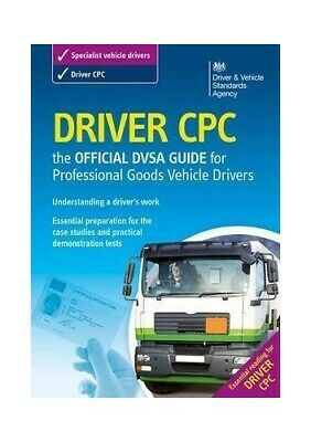 Driver CPC - The Official DVSA guide for pr... by Driving Standards Ag Paperback