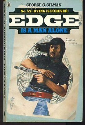 Dying is for Ever (Edge), Gilman, George G. Paperback Book The Cheap Fast Free