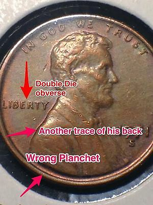 1971 S Lincoln Double Die Obverse and more error coin