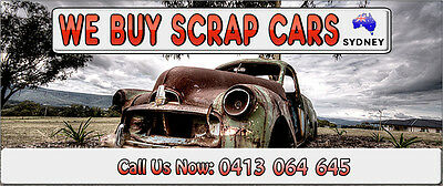 Cars Wanted and Removed Sydney City Scrap Cars 0424166577