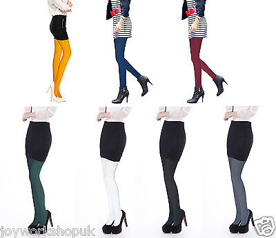 Ladies extra large size Angora wool warm tights seamless toe winter thick 7color