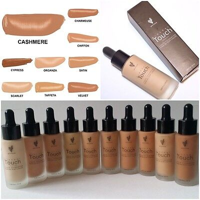 10 Colors Full Size All Shades Younique Touch Mineral Liquid Foundation 20ml