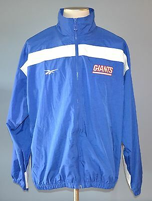 ca43ee95a Vintage Reebok Pro LIne New York Giants NFL Football Team Jacket Coat Large  L