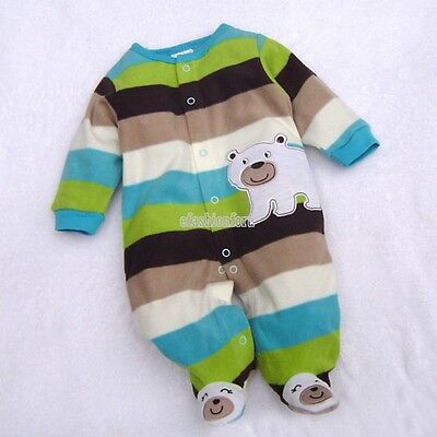 Cute Newborn Baby Girl Boy Clothes One-Pieces Rompers Overalls 3-12 Months EFFU