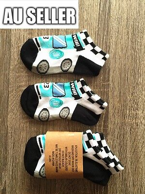 Boy's New Cotton 3 Pairs Causal Sports Ankle Low Cut Running Socks