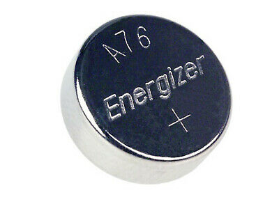 50 X Energizer Lr44 Ag13 A76 L1154 Cell Button Battery Bulk Batteries 1.5V