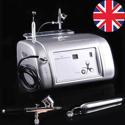 Oxygen Spray Water Inject Injection Hydrate Jet Skin Rejuvenation Facial Machine