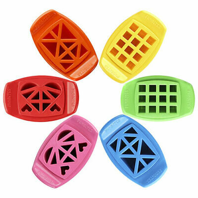 FunBites Bite Sized Fun Shapes Food Sandwich Cutter - Heart Squares Triangles
