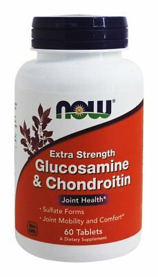 NOW Foods - Glucosamine and Chondroitin Sulfate Extra Strength Joint Health - 60
