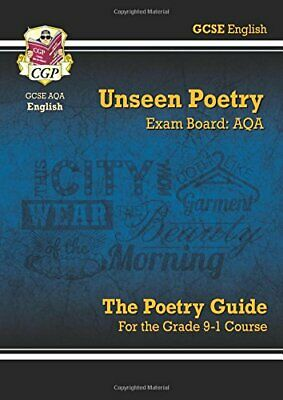 New Grade 9-1 GCSE English Literature AQA Unseen Poetry Guide - ... by CGP Books