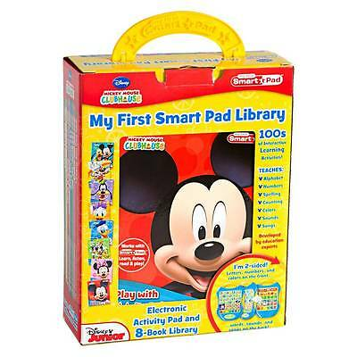 New Disney My 1st Smart Pad Library 8 Book Library 100's of Learning Activities