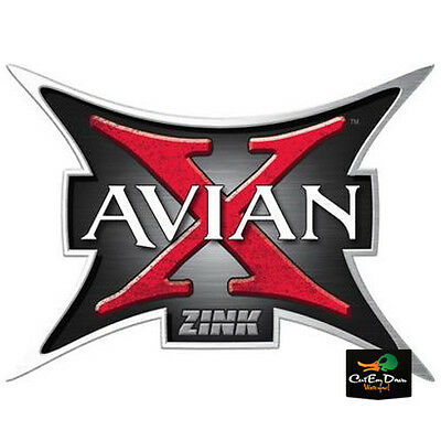 New Zink Avian X Logo Goose Duck Call Bumper Trailer Truck Sticker Decal 12""