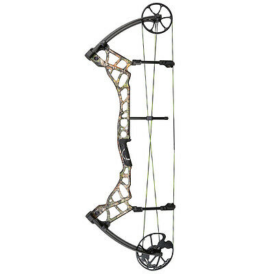 New Bear Archery Tremor Compound Bow Right Hand 70 lbs Realtree Xtra Camo