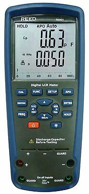 REED R5001 Dual Display LCR Meter, Inductance, Capacitance & Resistance.