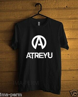 Atreyu Rock Band Black T-shirt for Man Size S-2XL