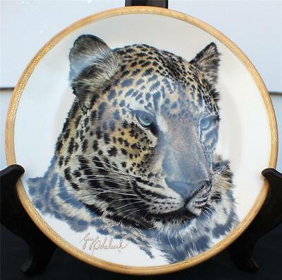 Vintg 1994 LENOX Great Cats of the World Collection CHINESE LEOPARD Décor Plate