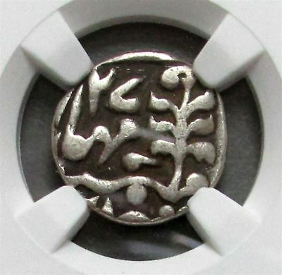 1862 //27 Silver India 1/4 Rupee Jaipur Princely State Coin Ngc Very Fine 20