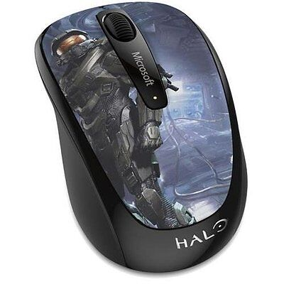 Microsoft Wireless Mobile Mouse 3500 Halo Limited Ed: The Master Chief GMF-00413