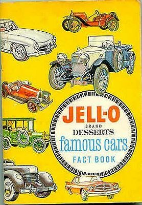 *JELL-O Car & Air Plane Picture Wheel Refernece CD*