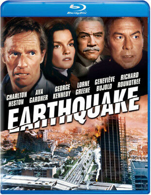 Earthquake [New Blu-ray] Snap Case