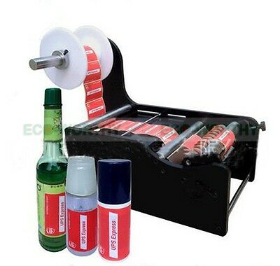 High Quality Manual Round Bottle Labeling Machine TB-26 Label Width:10-210mm