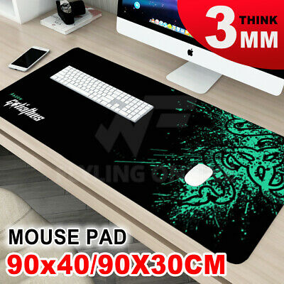 New Anti-Skid Computer PC Keyboard Mat Gaming Mouse Pad 90X30cm Extra Large AU