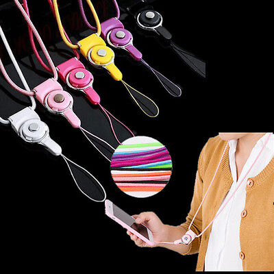 Badge for Lanyard Hot ID Pass Card Neck Strap Mobile Phone Holder Detachable