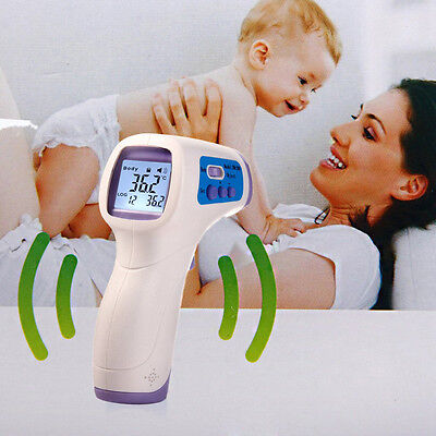 New Multifunction Baby Adult Body Digital Thermometer Gun Forehead Non-Contact