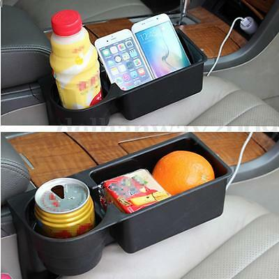 Auto Car Truck Van Seat Coffee Cup Phone Holder Water Bottle Food Mount Stand