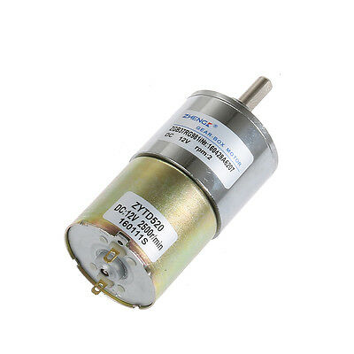 Electrical Planetary Gear Motor 7.8Kg.cm 12V DC 2RPM