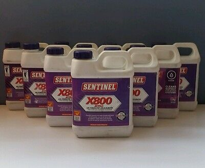 Sentinel X800 Jetflo Ultimate Cleaner X 10 Bottles