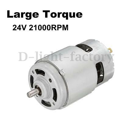 24V 21000RPM High Speed Large Torque DC775 Machine Motor Electric Tool 66*42mm