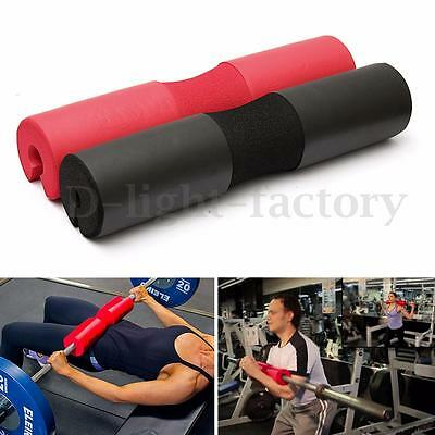 Foam Padded Barbell Bar Pad Cover For Squat Weight Lifting Shoulder Back Support