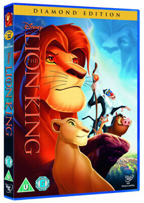 The Lion King DVD (2011) Roger Allers cert U Incredible Value and Free Shipping!
