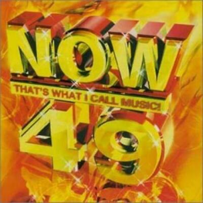Various Artists : Now Thats What I Call Music! Volume 49 CD Fast and FREE P & P