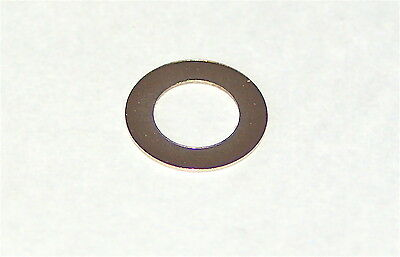 100 PIECES POTENTIOMETER OR SWITCH FIXING WASHER 7.5mm 0.4mm THICK NICKEL PLATE