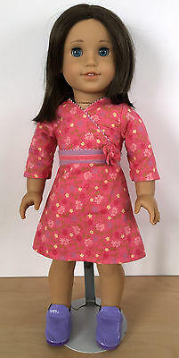 2009 AMERICAN GIRL of the Year Chrissa Maxwell Doll & Stand Retired