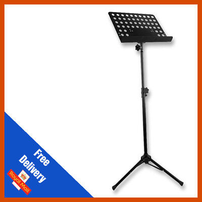 Heavy Duty Orchestral Lectern Conductor Sheet Music Stand Holder Tripod Base