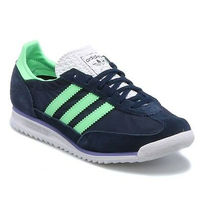 Womens Adidas Originals SL72 Classic Navy Casual Fashion Trainers Shoes Size 3-8