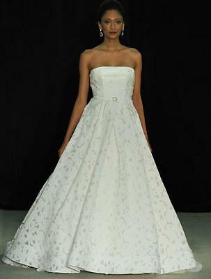 82ba4e4caff AUTHENTIC Anne Barge Giselle Pearl Jacquard Wedding Dress 4 RETURN POLICY